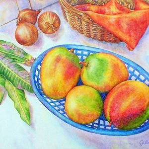 """Limited edition giclee print on watercolor paper: 12"""" x 9 ¼"""" - $135 USD"""