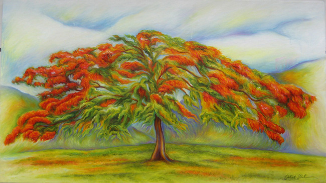 """oil on canvas - 30"""" x 17"""" - Sold"""