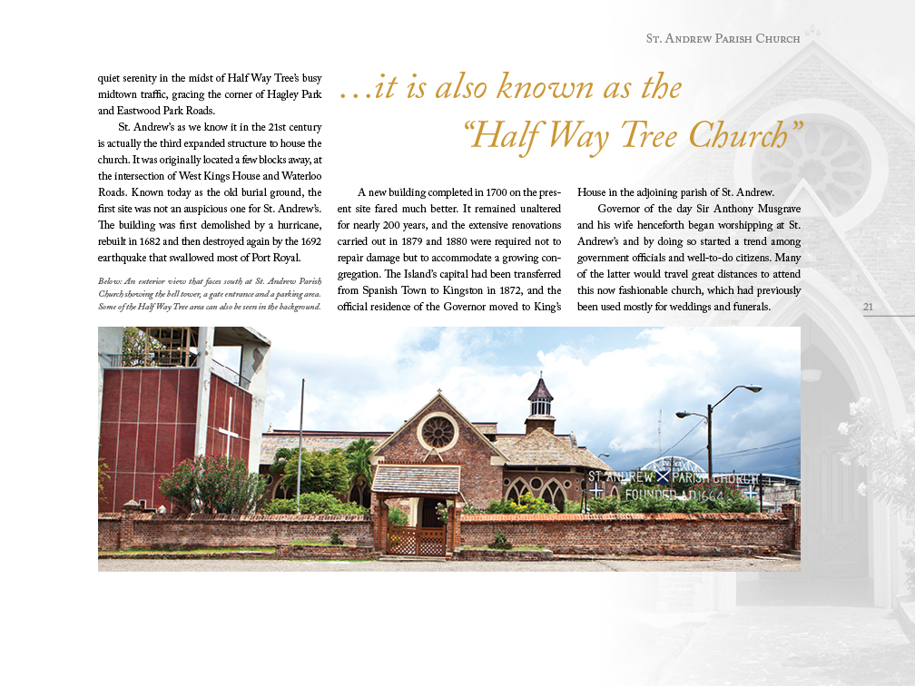 A Watercolour Tribute to Historic Churches of Jamaica by Juliet Thorburn - page 21