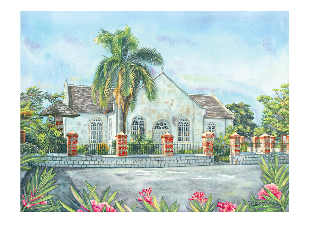 A Watercolour Tribute to Historic Churches of Jamaica by Juliet Thorburn - page 24